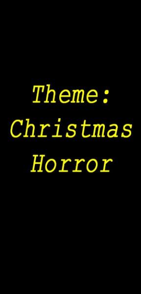 Theme xmas horror